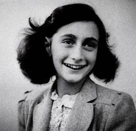 Anne Frank - geboren am 12. Juni 1929 in Frankfurt am Main; gestorben Anfang März 1945 im KZ Bergen-Belsen