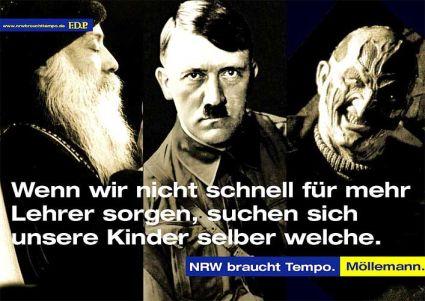 Möllemanns Kampagnenwut hat der FDP enorm geschadet.