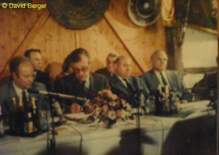 Kanzler Kohl beim Schützenfest in Esperke bei Hannover, 13.04.1986