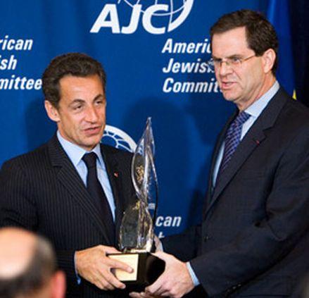 Sarkozy Jewish Award