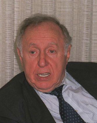 Ignatz (Yitzchak) Bubis (1927-1999), ehem. Vorsitzender des Zentralrats der Juden in Deutschland (1992-1999) - Foto: Túrelio - Dezember 1997