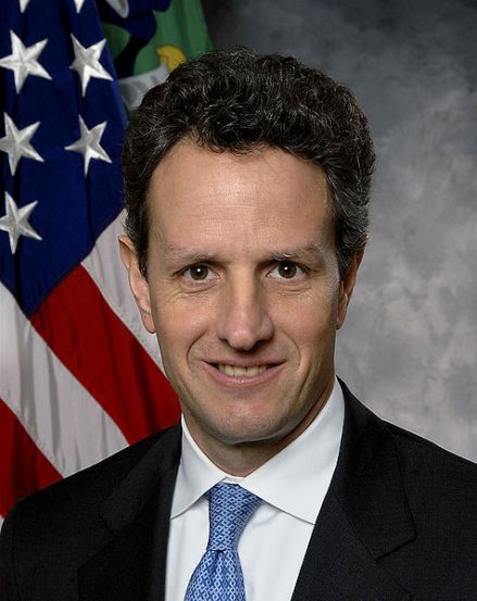 United States Secretary of the Treasury Timothy Geithner