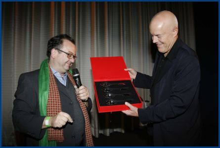 Albert Wiederspiel und Lars Becker