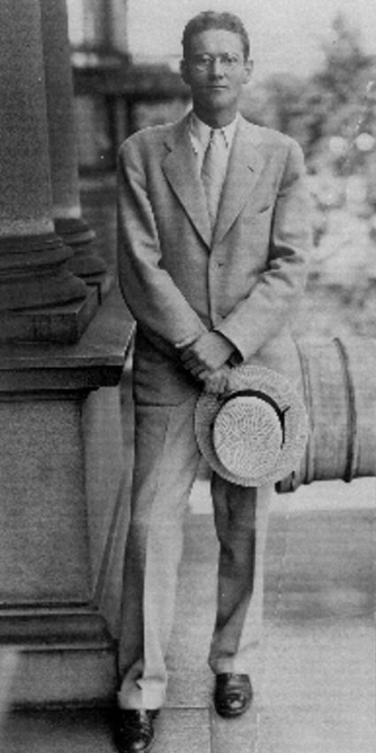 Hiram Bingham as young diplomat in Marseille
