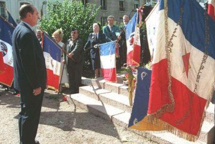 Am 16. Juli 1995 entschuldigte sich der französische Staatspräsident Jacques Chirac öffentlich im Namen der französischen Republik
