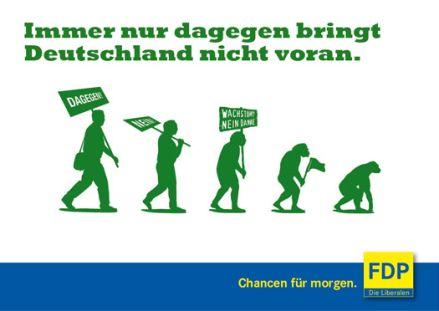 Dagegen-Partei Bündnis 90-Die Grünen